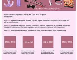 #3 for Design an amazing front page for an adult toys website. by zerozo