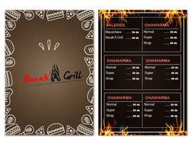 nº 12 pour creation de menu et flyer pour un fast food par zouhairgfx