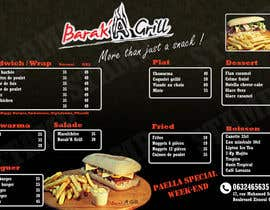 nº 2 pour creation de menu et flyer pour un fast food par Constanzalobos