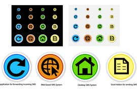 nº 7 pour Develop Icons for applications par Ekaterina5