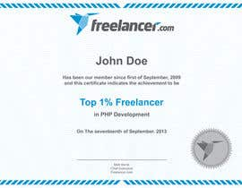 #17 for Design Freelancer.com's new Achievement Certificate by hanialhoussien
