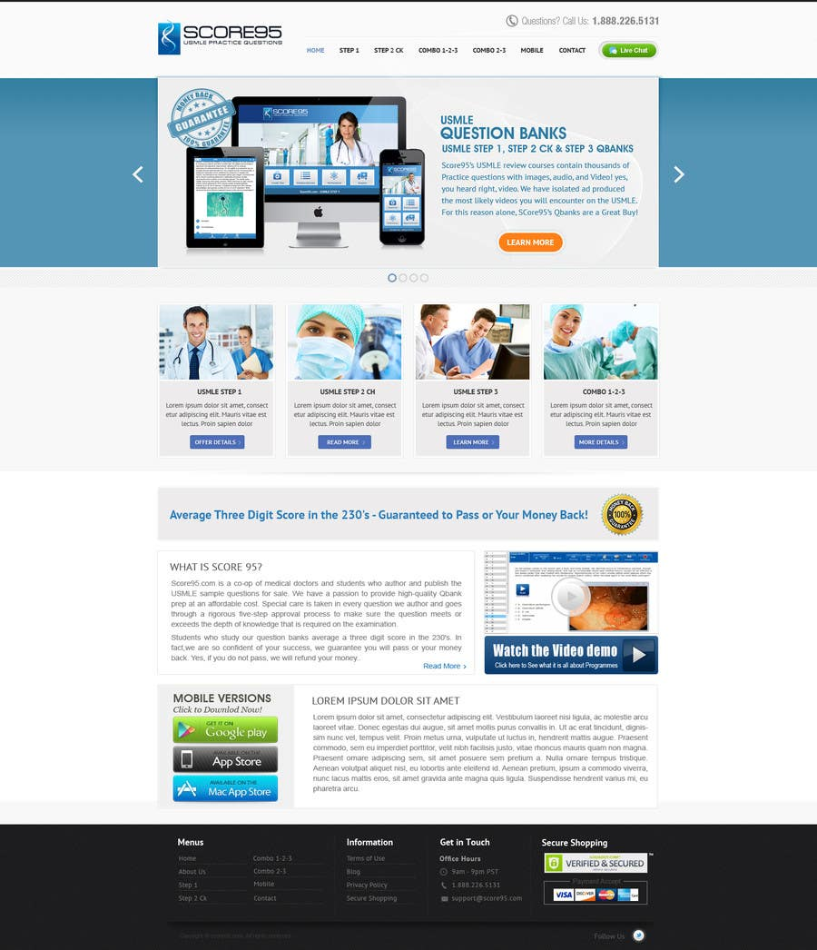 #36 for Build a Website for Score95.com by iNoesis