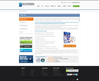 #75 for Build a Website for Score95.com by iNoesis
