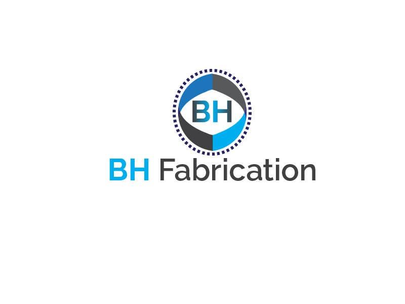 #133 for Design a Logo for BH Fabrication by rahmatfajri92