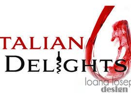 #46 para Design a Logo for Italiandelights.nl por ioanaiosep
