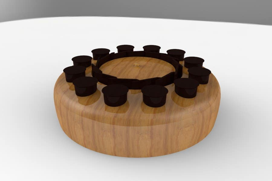 Proposition n°19 du concours Do some 3D Modelling for the Coffee Condiment Organizer