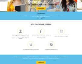 Nro 6 kilpailuun Design 1 landing page for an IQ testing website käyttäjältä rizsoft11
