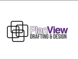 #9 para Design a Logo for PlanView Drafting & Design por iakabir