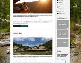 #17 untuk Web Design for Youth Outdoor Adventure and Service Organization website oleh JosephNgo