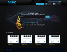 #70 pentru Website Design for Noiz Analytics de către Sirvan3TR