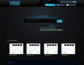 #71 for Website Design for Noiz Analytics by Sirvan3TR