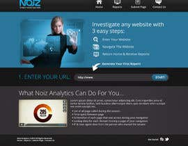 #41 pentru Website Design for Noiz Analytics de către wademd