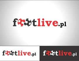 nº 111 pour Design logo for footlive.pl par bennor