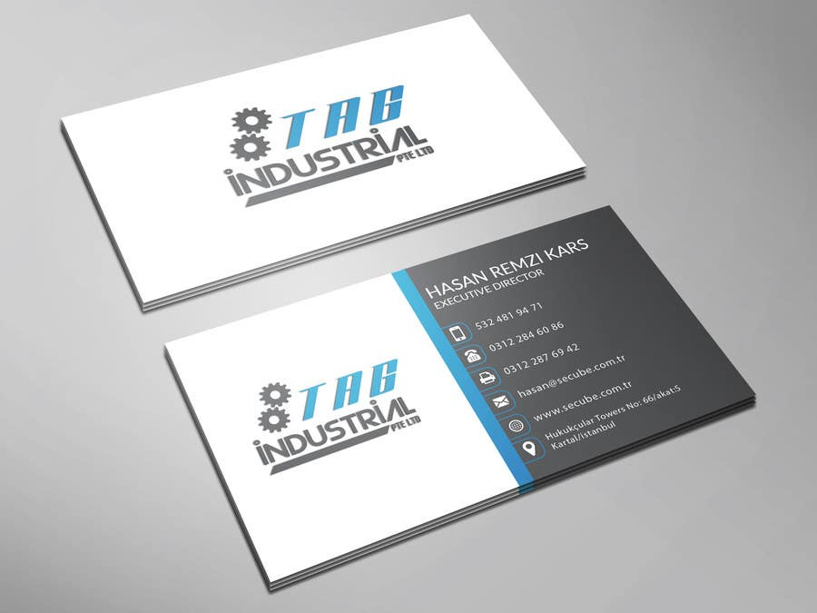 Entry 32 By Imimam96 For Business Card Design For Robotics Start Up