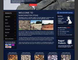 #15 for Design a Website Mockup for Marchington Stone af aleksejspasibo