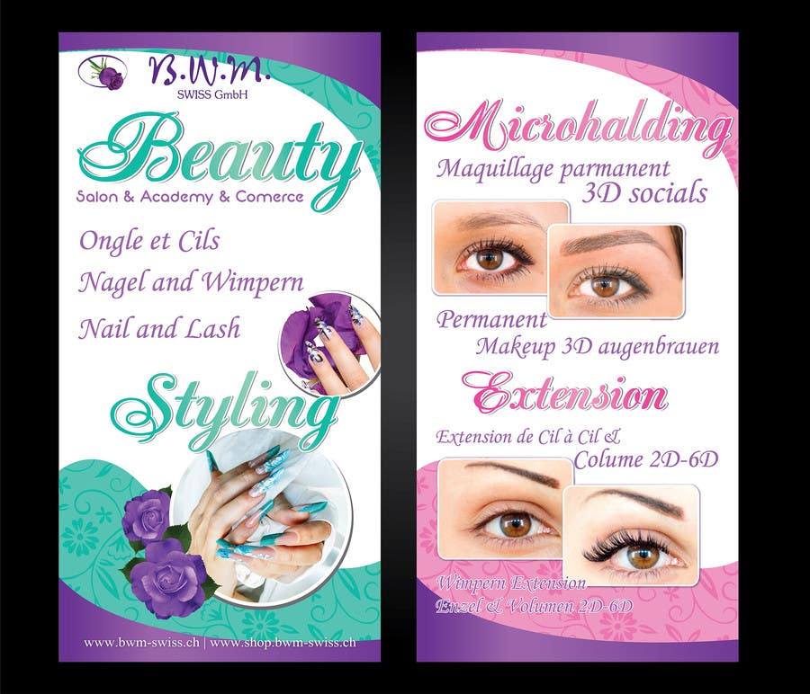 Contest Entry 36 For Design A Beauty Salon Banner