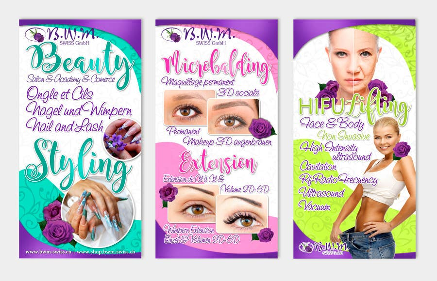 Contest Entry 11 For Design A Beauty Salon Banner