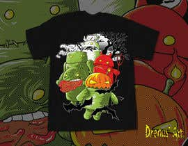 #31 for Design a Tee for Android Halloween af DrenusArt
