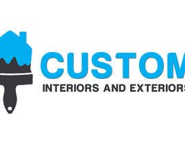 nº 43 pour Design a Logo for Custom Interiors and Exteriors par rivemediadesign