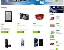 #37 para Website Mockup por UmeSake
