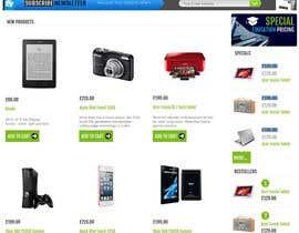 Nro 53 kilpailuun Website Mockup käyttäjältä UmeSake