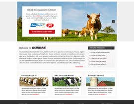 #4 cho Design a Website Dundas Agri Systems Inc bởi Pavithranmm