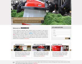 #36 cho Design a Website Dundas Agri Systems Inc bởi Pavithranmm