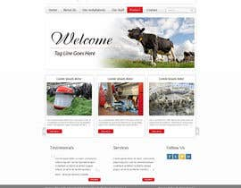 #63 cho Design a Website Dundas Agri Systems Inc bởi grafixeu