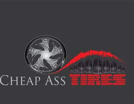"#23 for Design a trademark logo for  ""Cheap Ass Tires"" by Fikskercova"
