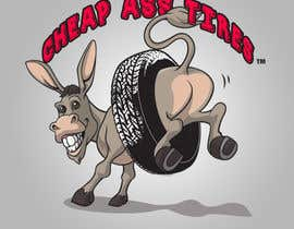 "#79 for Design a trademark logo for  ""Cheap Ass Tires"" af imheathring"