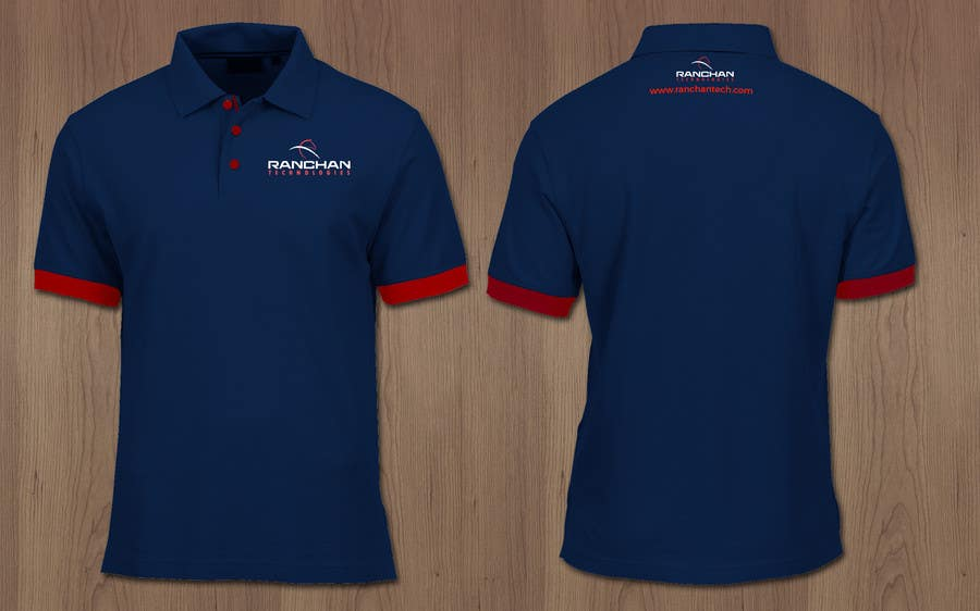 design a corporate polo tshirt for company uniform