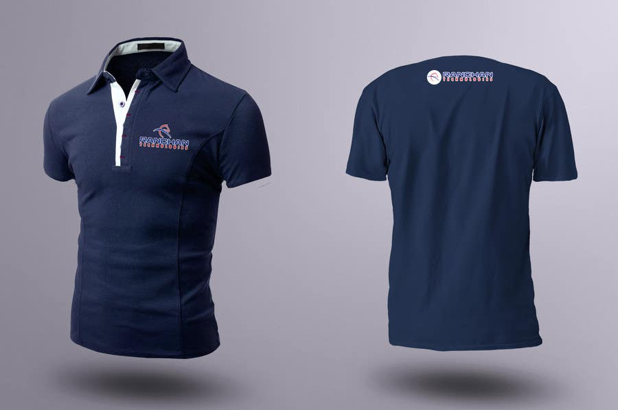 design a corporate polo t shirt for company uniform