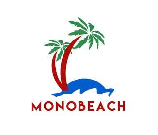 """#7 για design a logo for """"monobeach"""" από abdulbari25ab"""
