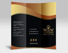 #6 for Design tri-fold psd template for my compagny by msranask