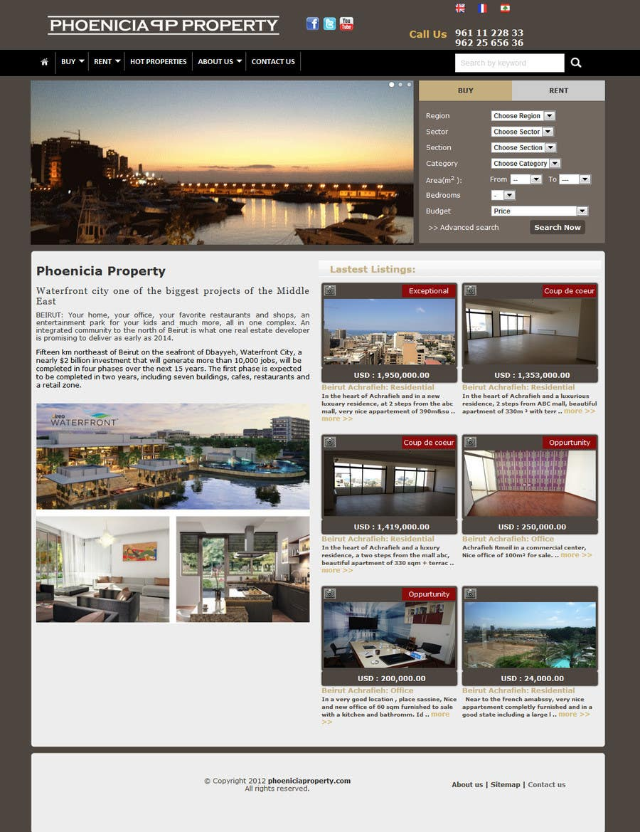 #15 for Build a Website for www.Commercialmls.net real estate website by flashraj