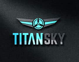 #124 for Design a Logo for Titan Sky by BhenAblana