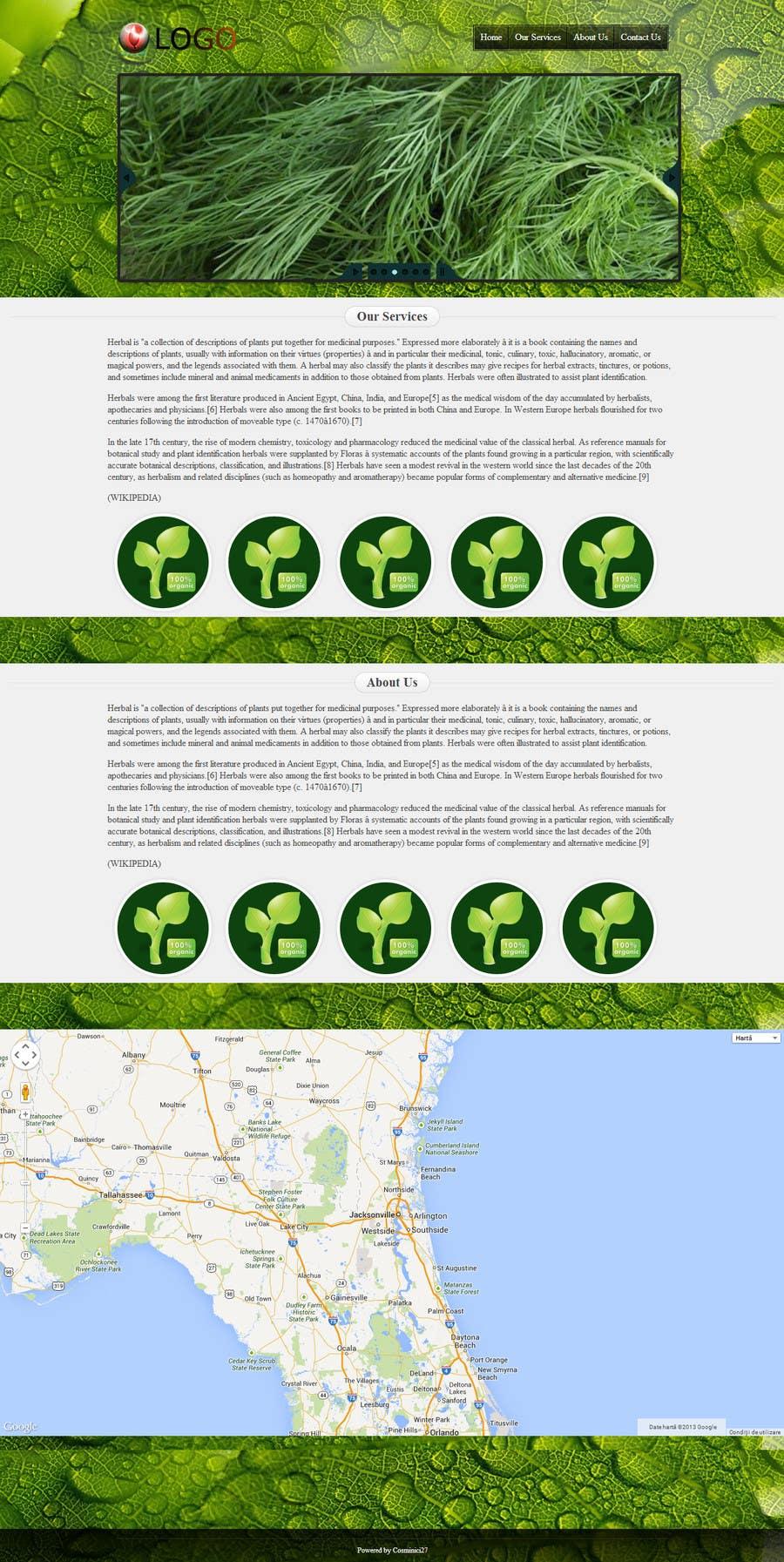 Penyertaan Peraduan #6 untuk Build a Website for herbal
