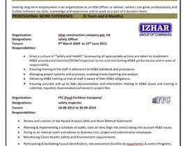 #5 for CV Formatting and Professional Design by usmanmehar313