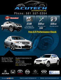 #17 for Design a Flyer for automotive repair shop 4x6 by Pixaart