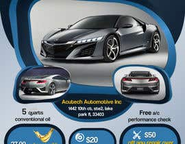 #23 for Design a Flyer for automotive repair shop 4x6 by Artimization