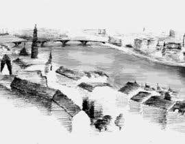 #29 cho B&W Pen & Ink Drawings of Cityscapes Wanted bởi FLand
