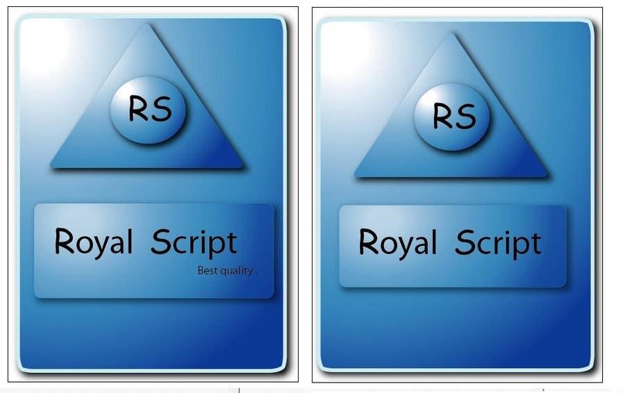 Inscrição nº                                         20                                      do Concurso para                                         Logo Design for Stationery Packaging - Royal Script