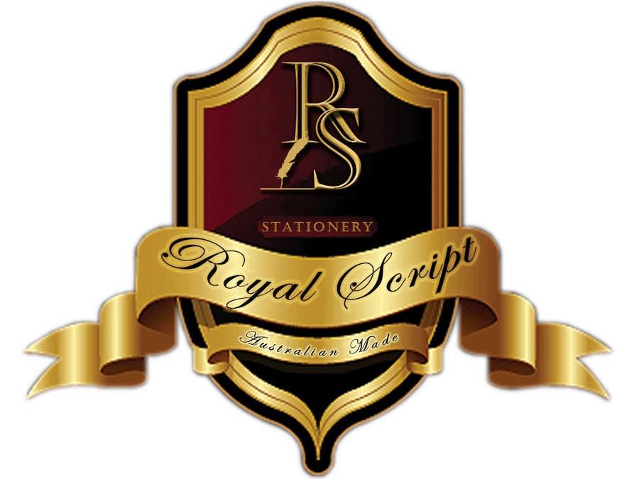 Inscrição nº                                         23                                      do Concurso para                                         Logo Design for Stationery Packaging - Royal Script