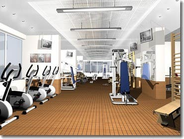 #3 for 5 star hotel - gym concept by loulou1988