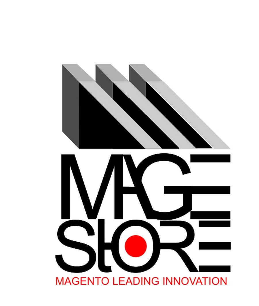 Penyertaan Peraduan #226 untuk Logo Design for www.magestore.com