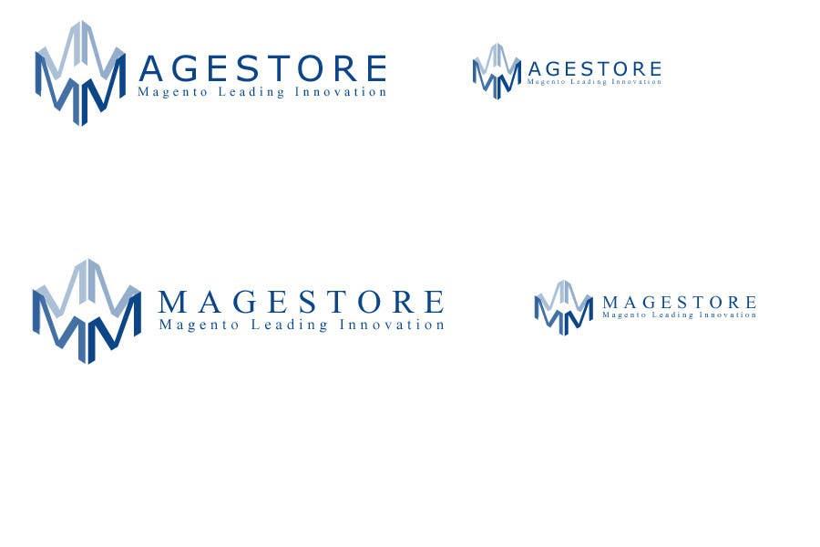 Penyertaan Peraduan #202 untuk Logo Design for www.magestore.com