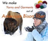 Contest Entry #27 for Banner Ad Design for The Buffalo Wool Co.