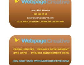 #3 para WEBPAGECREATIVE-BUSINESS!!!CARDS por tanveer230