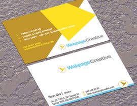 #28 para WEBPAGECREATIVE-BUSINESS!!!CARDS por jobee