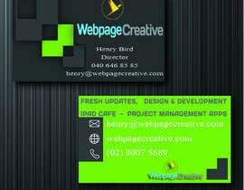 #4 para WEBPAGECREATIVE-BUSINESS!!!CARDS por kvlrcube